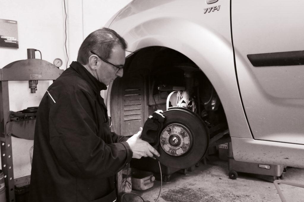 Didier Baur - changement de freins